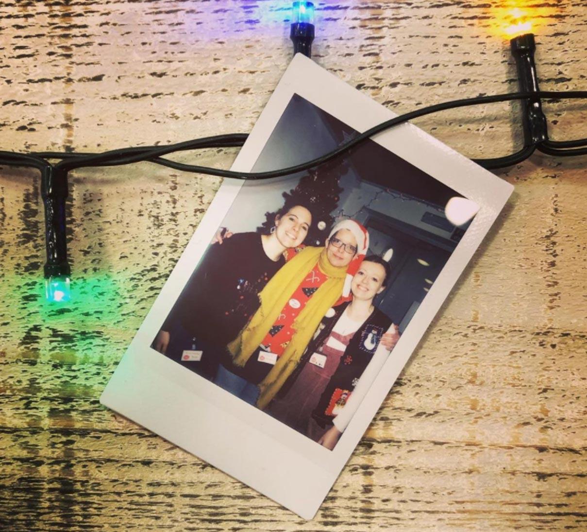 Polaroid Moments and Hope at Christmas